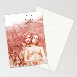 Twilight -Robert Pattinson & Kristen Stewart Stationery Cards