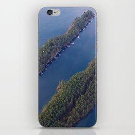 Ocean Boat Dock iPhone Skin