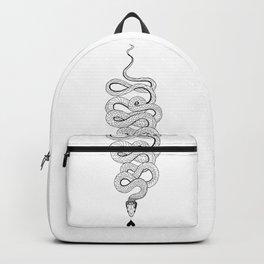 Snake of Love Illustration Backpack