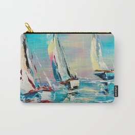 YACHTS ON THE WIND Carry-All Pouch