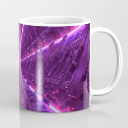 Purple Tunnel Coffee Mug