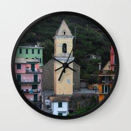 Manarola (Cinque Terre ) Wall Clock