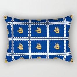 flag of quebec city – laurent, vieille capitale,quebeques,quebecker,beauport,limoilou. Rectangular Pillow