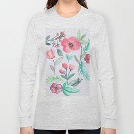 Watercolor Floral Arrangement II Long Sleeve T-shirt