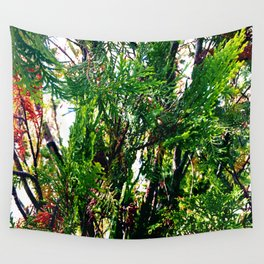 All Things Grow Wall Tapestry