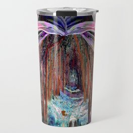 Fairy and Unicorn, Fantasy Forest Travel Mug