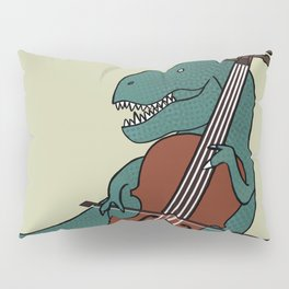 T-Rex Double Bass Pillow Sham