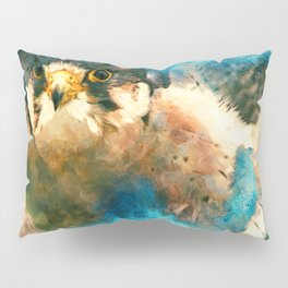 Peregrine in the Clouds Pillow Sham