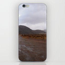 After the Desert Rain iPhone Skin