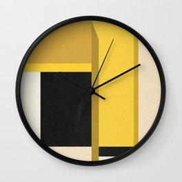 geometric 14 Wall Clock