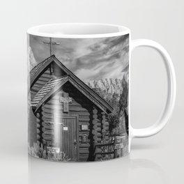 Chapel of Transfiguration and Grand Teton Coffee Mug