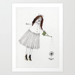 Picture One:  The Flower Art Print