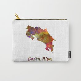 Costa Rica in watercolor Carry-All Pouch