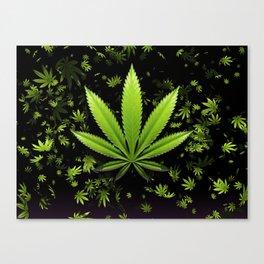 Sweet leaf Falls Canvas Print