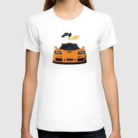 f1 T-shirts featuring 1995 McLaren F1 LM  by vsixdesign