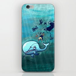 Whales are Furious! iPhone Skin