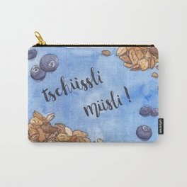 Tschüssli Müsli Carry-All Pouch