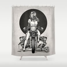 Winya No. 82 Shower Curtain