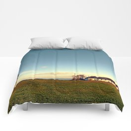 The serenity of countryside life | landscape photography Comforters