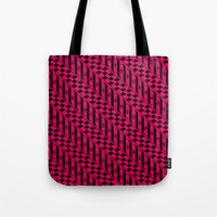 the strokes Tote Bags featuring Strokes by Susan Marie