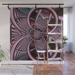 Mind-boggling, fractal abstract Wall Mural