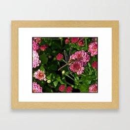 Pink Mum Hug Framed Art Print
