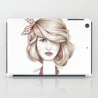dorothy iPad Cases featuring Dorothy by yulianzone