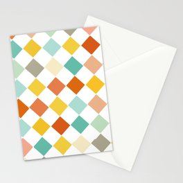 Color Check Stationery Cards
