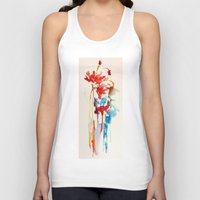splash Tank Tops featuring Splash by zeze