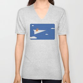 fly away! Unisex V-Neck