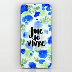 Joie de Vivre iPhone & iPod Skin