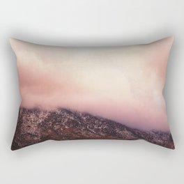 Red Mountain Rectangular Pillow