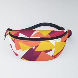 Bright & Warm Triangles Fanny Pack