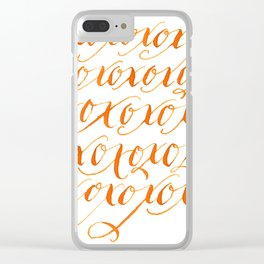 XOx24 Clear iPhone Case
