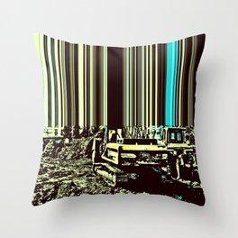 TRACTORUS Throw Pillow