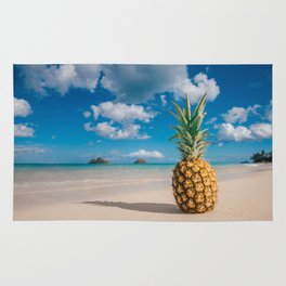 Pineapple and the Mokes Rug