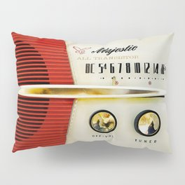 My Grand Father Classic Old vintage Radio Pillow Sham