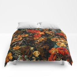 Midnight Garden VII Comforters