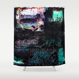 Encounters 32a by Kathy Morton Stanion Shower Curtain