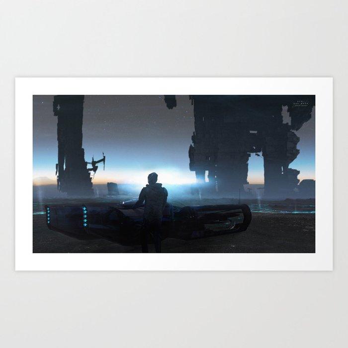 ACH Art Print