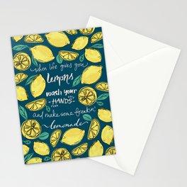 Make Some Freakin' Lemonade. -Blue Stationery Cards