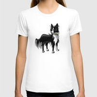 border collie T-shirts featuring Border Collie by ragdollcomics