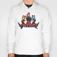 vocaloid Hoodies featuring Vocaloid / Babymetal by Tigers and Daises (LadyBeemer)