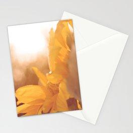 Sun Flare Sunflower Stationery Cards
