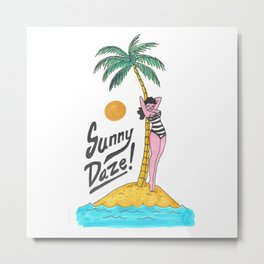 Sunny Daze Metal Print