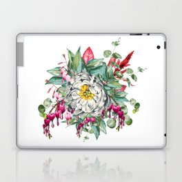 Gentille Peony, watercolor handpainted clipart, floral, flower, design, stylish, wedding, invitation Laptop & iPad Skin