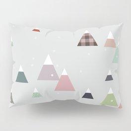 winter || in white Pillow Sham