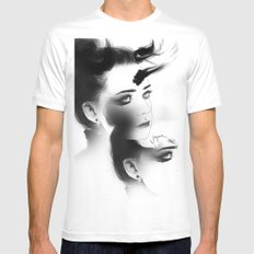 Insidious White MEDIUM Mens Fitted Tee