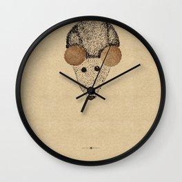 Parmesan Cookies Wall Clock