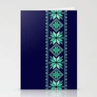 nordic Stationery Cards featuring NORDIC by Oksana Smith